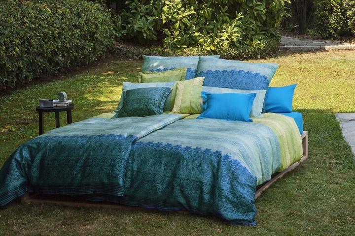 italienische bettw sche in frischen farben dorma vita. Black Bedroom Furniture Sets. Home Design Ideas